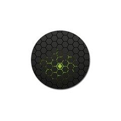 Green Android Honeycomb Gree Golf Ball Marker