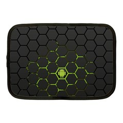 Green Android Honeycomb Gree Netbook Case (medium)