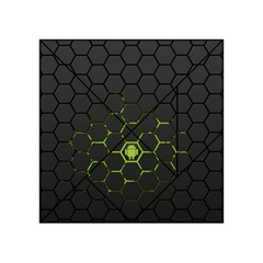 Green Android Honeycomb Gree Acrylic Tangram Puzzle (4  X 4 )