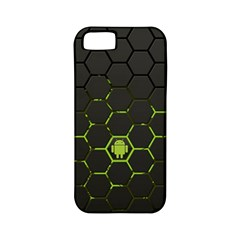 Green Android Honeycomb Gree Apple Iphone 5 Classic Hardshell Case (pc+silicone)