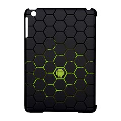 Green Android Honeycomb Gree Apple Ipad Mini Hardshell Case (compatible With Smart Cover)