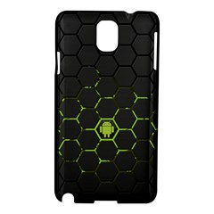 Green Android Honeycomb Gree Samsung Galaxy Note 3 N9005 Hardshell Case