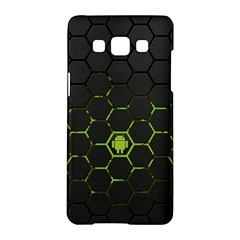 Green Android Honeycomb Gree Samsung Galaxy A5 Hardshell Case
