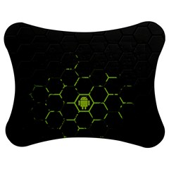 Green Android Honeycomb Gree Jigsaw Puzzle Photo Stand (bow)