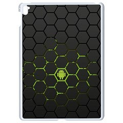 Green Android Honeycomb Gree Apple Ipad Pro 9 7   White Seamless Case
