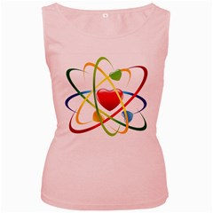 Love Women s Pink Tank Top