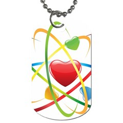 Love Dog Tag (one Side)