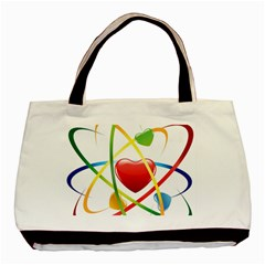 Love Basic Tote Bag (two Sides)