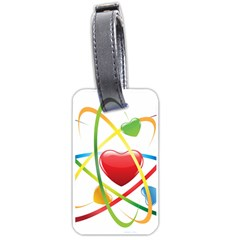 Love Luggage Tags (two Sides)