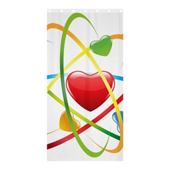 Love Shower Curtain 36  X 72  (stall)