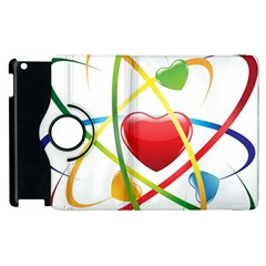 Love Apple Ipad 2 Flip 360 Case