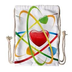 Love Drawstring Bag (large)