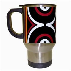 Toraja Pattern Ne limbongan Travel Mugs (white)