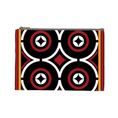 Toraja Pattern Ne limbongan Cosmetic Bag (large)