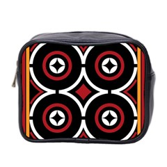 Toraja Pattern Ne limbongan Mini Toiletries Bag 2 Side