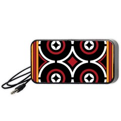 Toraja Pattern Ne limbongan Portable Speaker (black)