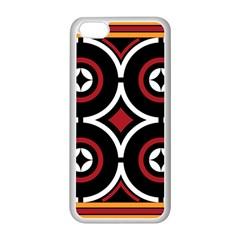 Toraja Pattern Ne limbongan Apple Iphone 5c Seamless Case (white)