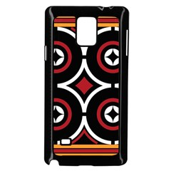 Toraja Pattern Ne limbongan Samsung Galaxy Note 4 Case (black)