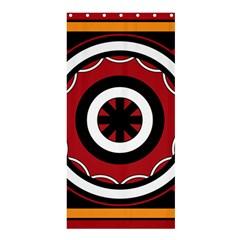 Toraja Pattern Pa barre Allo Shower Curtain 36  X 72  (stall)