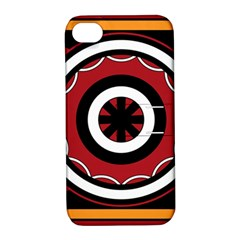Toraja Pattern Pa barre Allo Apple Iphone 4/4s Hardshell Case With Stand