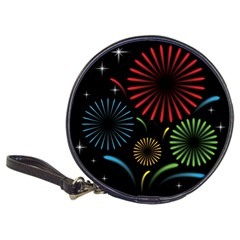 Fireworks With Star Vector Classic 20 Cd Wallets