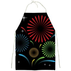 Fireworks With Star Vector Full Print Aprons