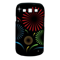 Fireworks With Star Vector Samsung Galaxy S Iii Classic Hardshell Case (pc+silicone)