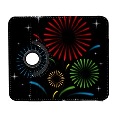 Fireworks With Star Vector Galaxy S3 (flip/folio)