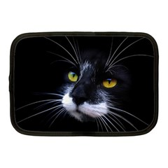 Face Black Cat Netbook Case (medium)