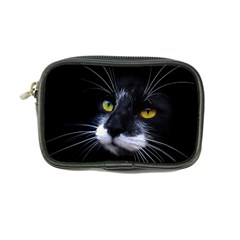 Face Black Cat Coin Purse