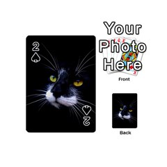 Face Black Cat Playing Cards 54 (mini)