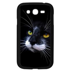 Face Black Cat Samsung Galaxy Grand Duos I9082 Case (black)