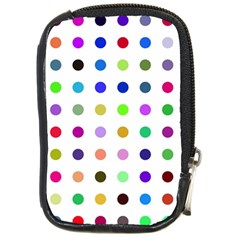 Circle Pattern Compact Camera Cases