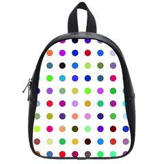 Circle Pattern School Bags (small)