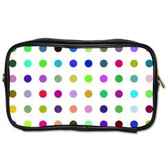 Circle Pattern Toiletries Bags 2 Side
