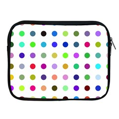 Circle Pattern Apple Ipad 2/3/4 Zipper Cases