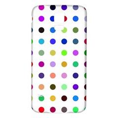 Circle Pattern Samsung Galaxy S5 Back Case (white)
