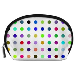 Circle Pattern Accessory Pouches (large)