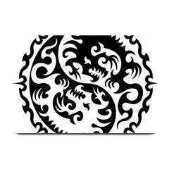 Ying Yang Tattoo Plate Mats