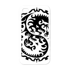 Ying Yang Tattoo Apple Iphone 4 Case (white)