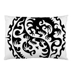 Ying Yang Tattoo Pillow Case (two Sides)