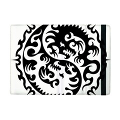 Ying Yang Tattoo Apple Ipad Mini Flip Case