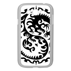 Ying Yang Tattoo Samsung Galaxy Grand Duos I9082 Case (white)