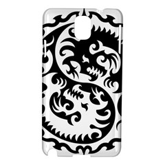 Ying Yang Tattoo Samsung Galaxy Note 3 N9005 Hardshell Case