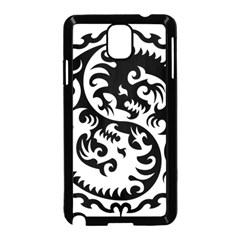 Ying Yang Tattoo Samsung Galaxy Note 3 Neo Hardshell Case (black)