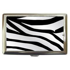 White Tiger Skin Cigarette Money Cases
