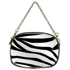 White Tiger Skin Chain Purses (one Side)