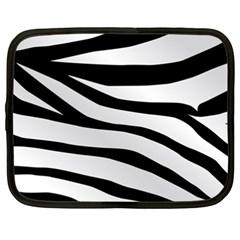 White Tiger Skin Netbook Case (xxl)