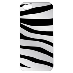 White Tiger Skin Apple Iphone 5 Hardshell Case