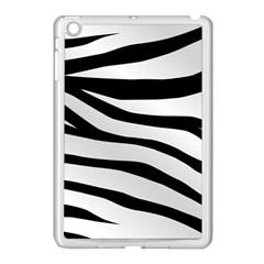 White Tiger Skin Apple Ipad Mini Case (white)